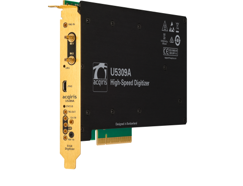 Industry's Only 10 GS/s, DC Coupled, 10-bit PCIe High-Speed Digitizer