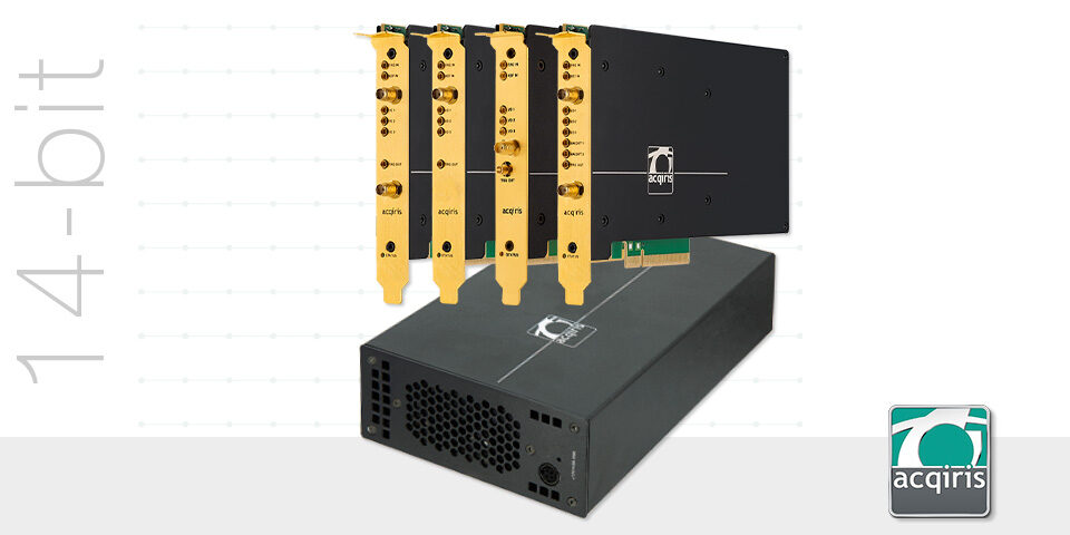 SA2 14-bit ADC Card family, from 1 GS/s up to 8 GS/s, with FPGA real-time signal processing